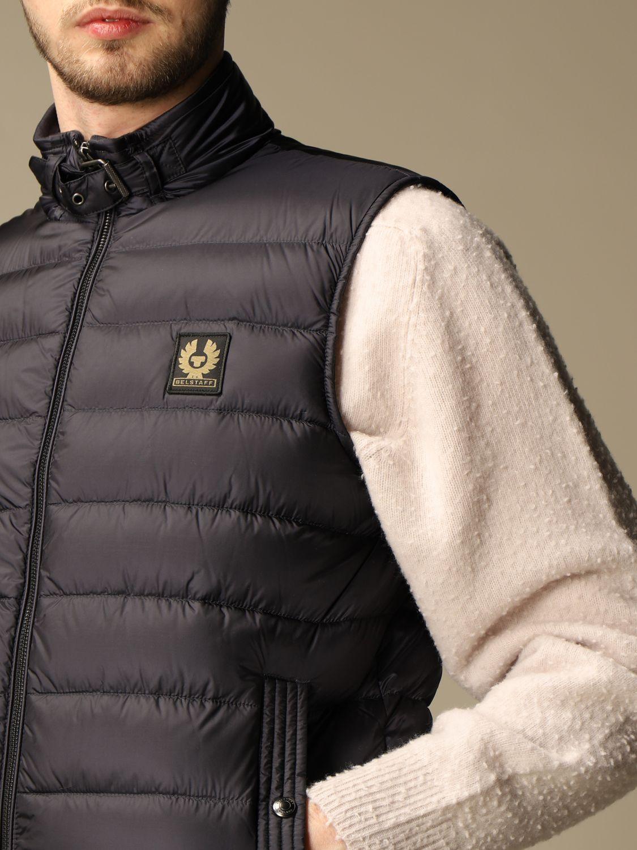 Waistcoat Belstaff: Jacket men Belstaff blue 4