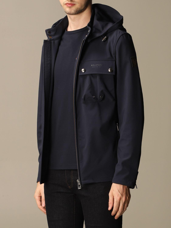 Jacket Belstaff: Jacket men Belstaff navy 3