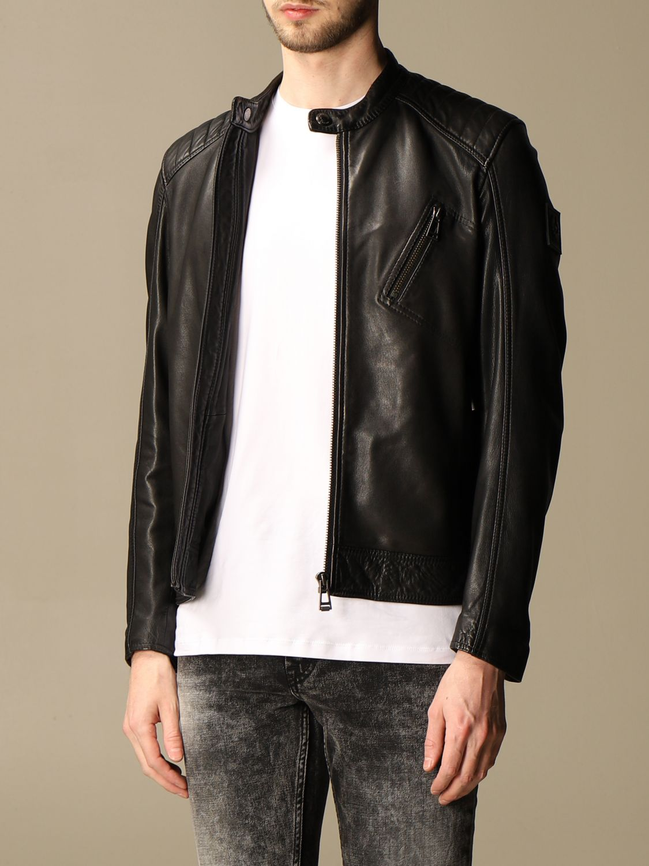 Jacket Belstaff: Jacket men Belstaff black 3