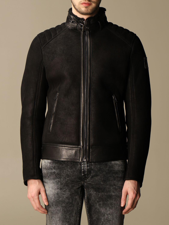 Jacket Belstaff: Westlake Belstaff sheepskin jacket black 1