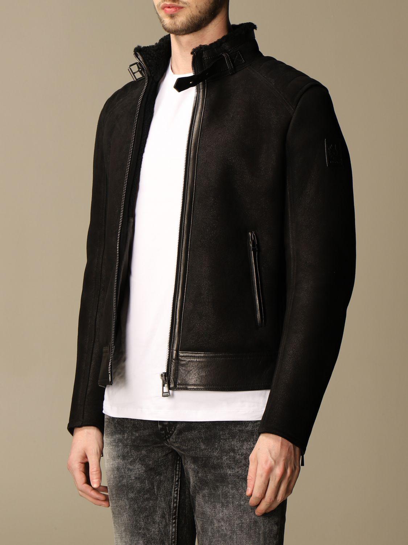 Jacket Belstaff: Westlake Belstaff sheepskin jacket black 3