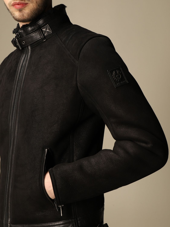 Jacket Belstaff: Westlake Belstaff sheepskin jacket black 4