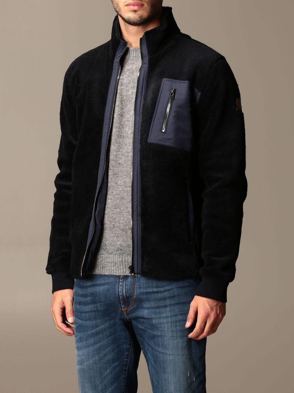 Sweatshirt Belstaff: Sweatshirt homme Belstaff bleu 3
