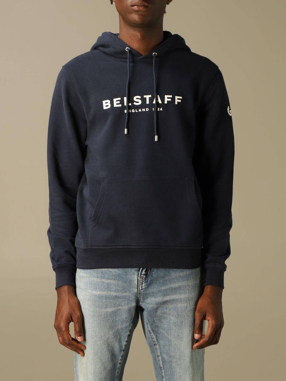 Sudadera Belstaff: Sudadera hombre Belstaff azul oscuro 1