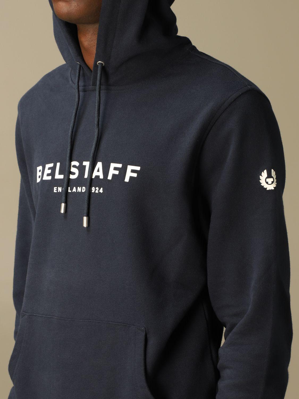 Sudadera Belstaff: Sudadera hombre Belstaff azul oscuro 3