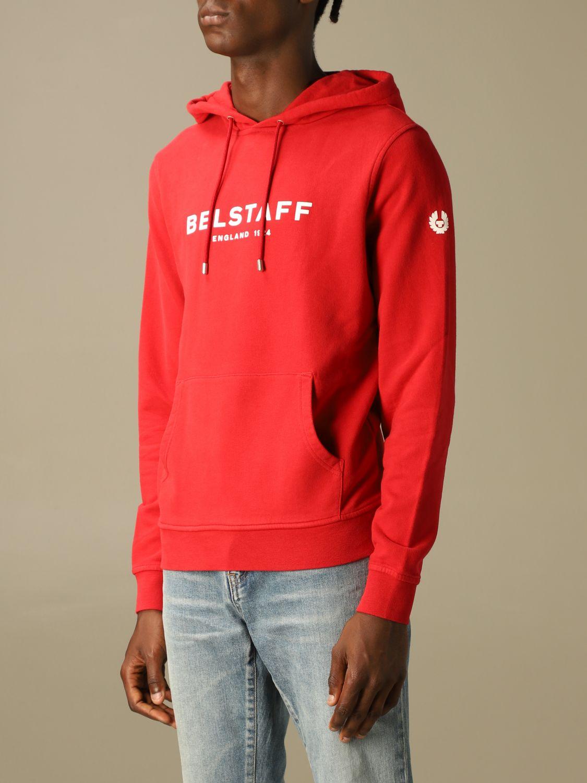 Sweatshirt Belstaff: Sweatshirt homme Belstaff rouge 3