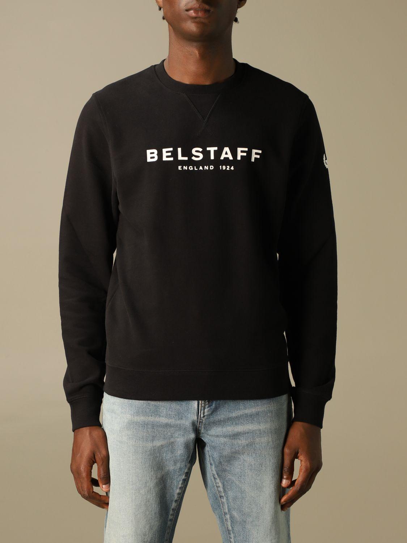 Sweatshirt Belstaff: Sweatshirt men Belstaff black 1