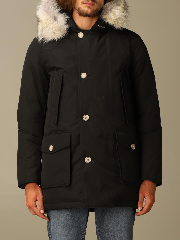 Куртка Woolrich: Куртка Мужское Woolrich черный 1