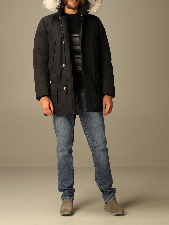Куртка Woolrich: Куртка Мужское Woolrich черный 2