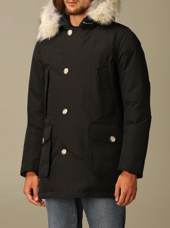 Куртка Woolrich: Куртка Мужское Woolrich черный 4