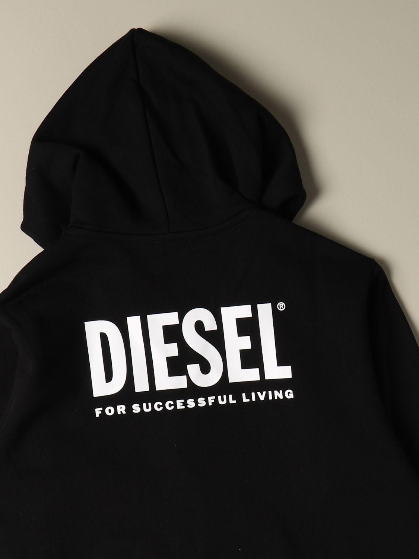 Jersey Diesel: Jersey niños Diesel negro 3
