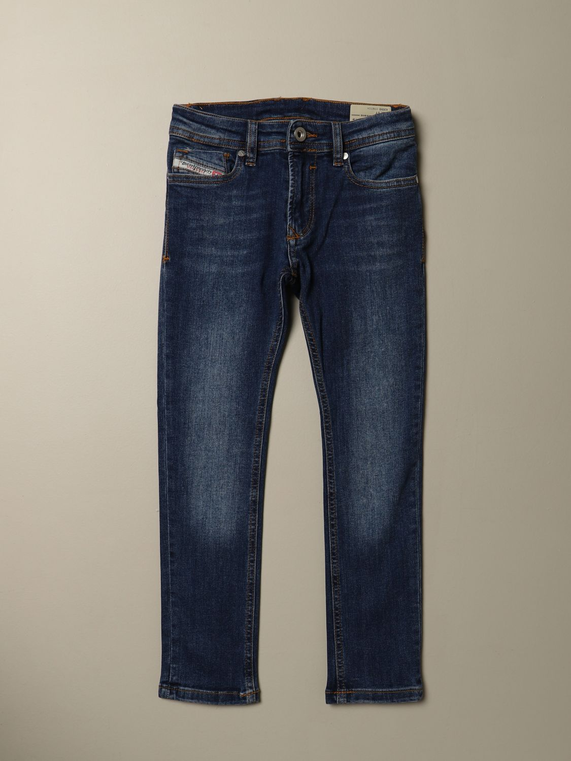 Jeans Diesel: Jeans Sleenker Diesel skinny fit in denim used denim 1