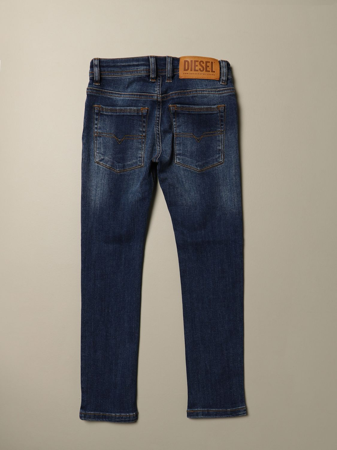 Jeans Diesel: Jeans Sleenker Diesel skinny fit in denim used denim 2