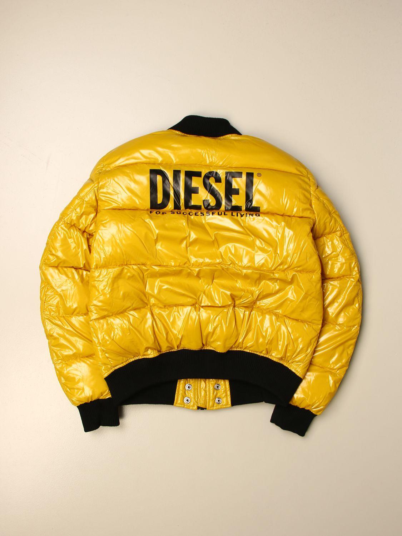 Chaqueta Diesel: Chaqueta niños Diesel mostaza 2