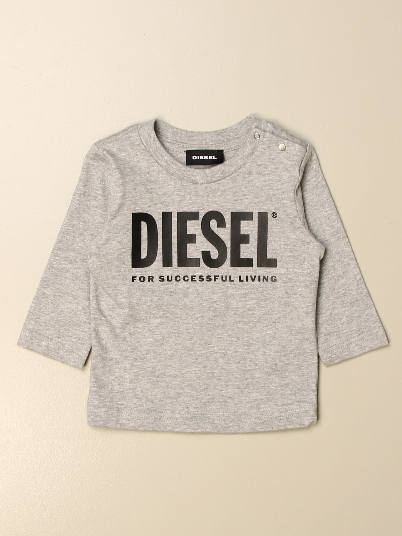 Camiseta Diesel: Camiseta niños Diesel gris 1