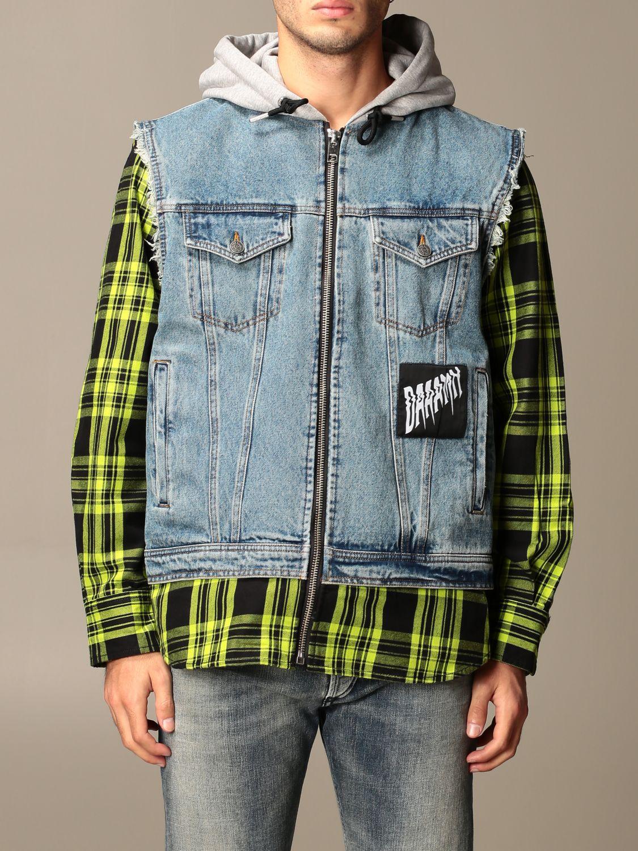 Куртка Diesel: Куртка Мужское Diesel серо-бежевый 1