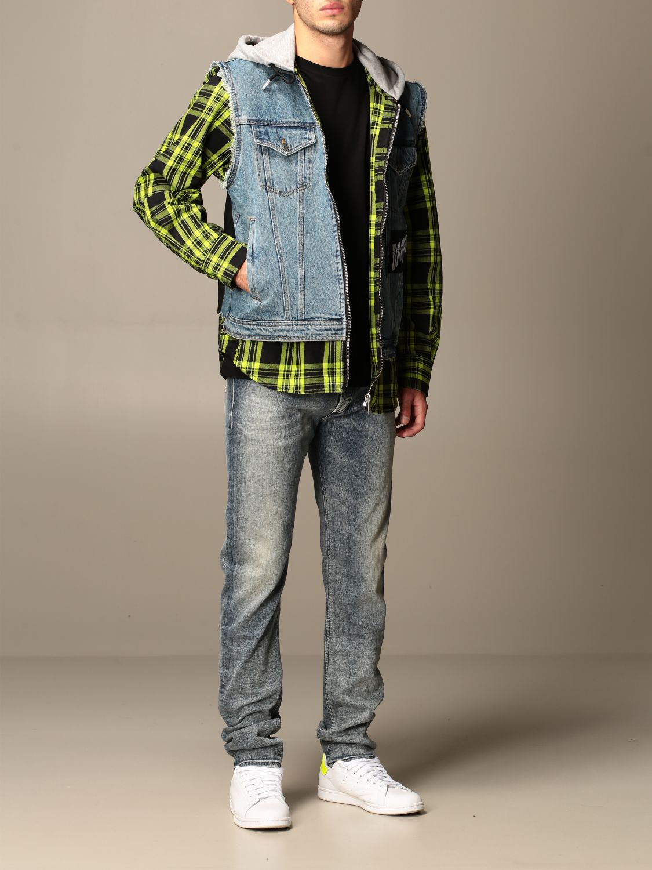 Куртка Diesel: Куртка Мужское Diesel серо-бежевый 2