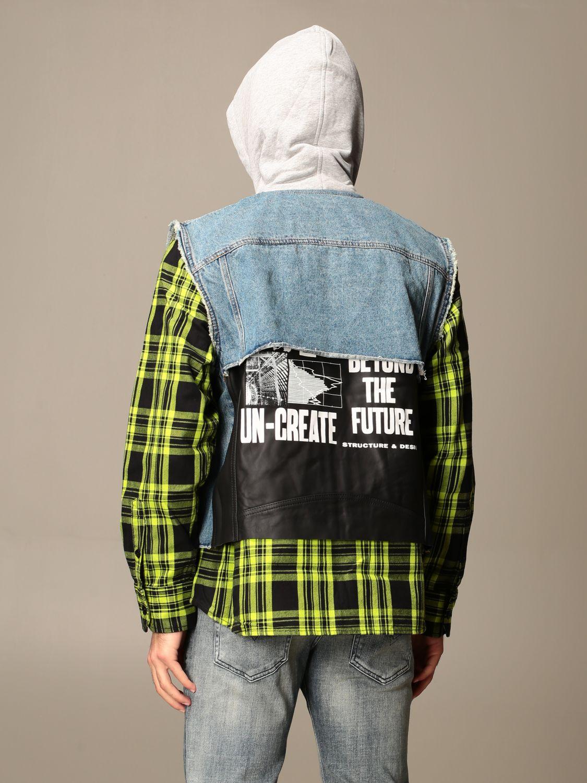 Куртка Diesel: Куртка Мужское Diesel серо-бежевый 3