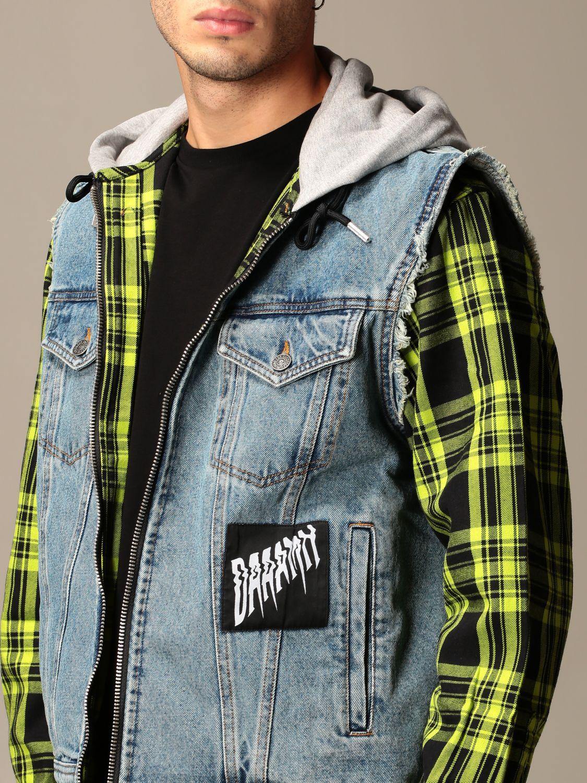 Куртка Diesel: Куртка Мужское Diesel серо-бежевый 4
