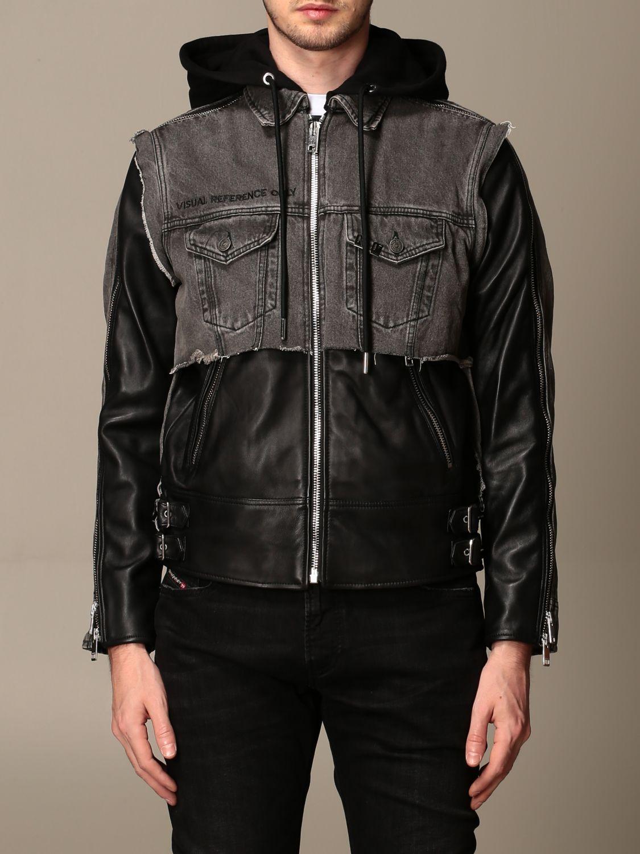 Куртка Diesel: Куртка Мужское Diesel черный 1