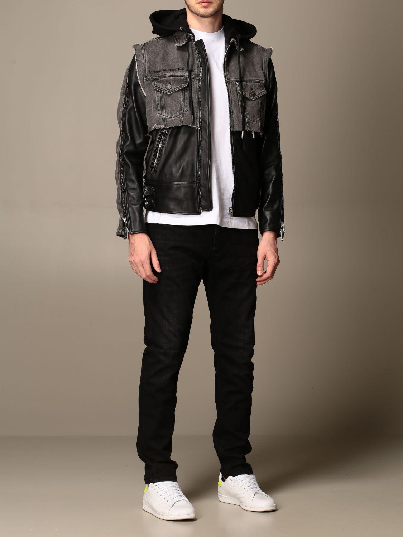 Куртка Diesel: Куртка Мужское Diesel черный 2