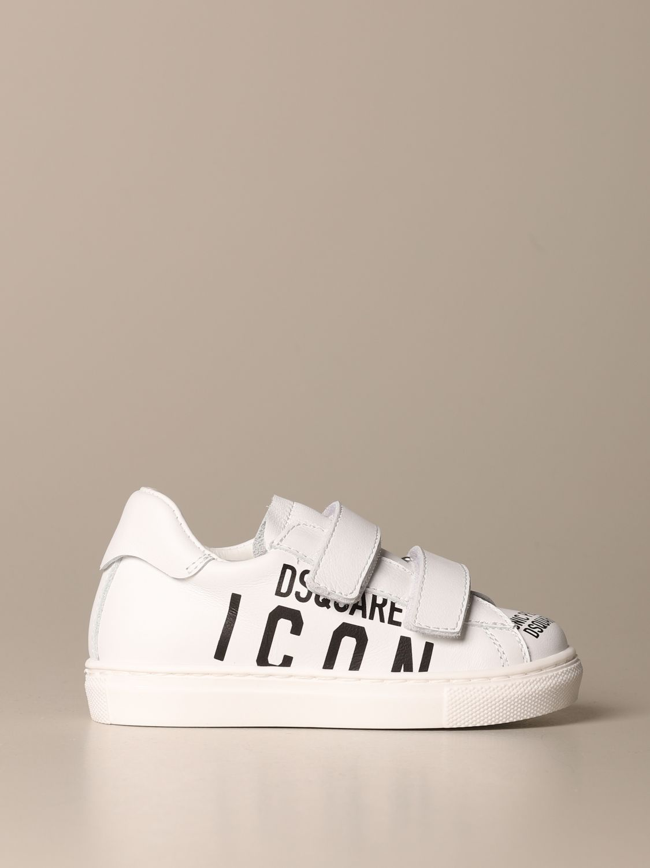 Zapatos Dsquared2: Zapatos niños Dsquared2 blanco 1