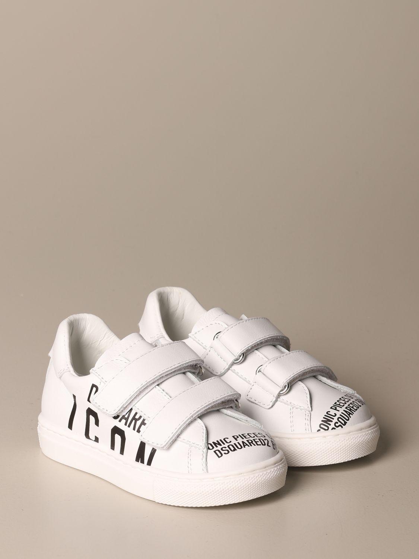 Zapatos Dsquared2: Zapatos niños Dsquared2 blanco 2