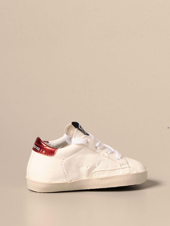 Zapatos Golden Goose: Zapatos niños Golden Goose blanco 3