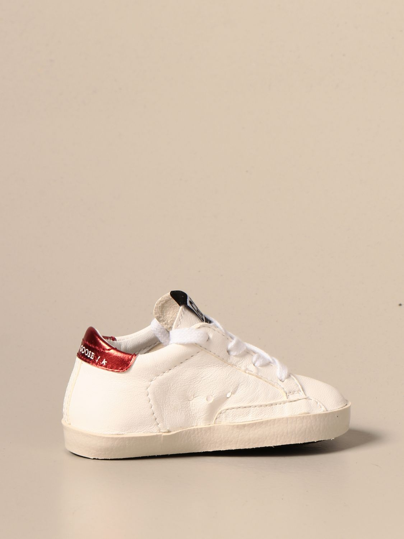 Chaussures Golden Goose: Chaussures enfant Golden Goose blanc 3