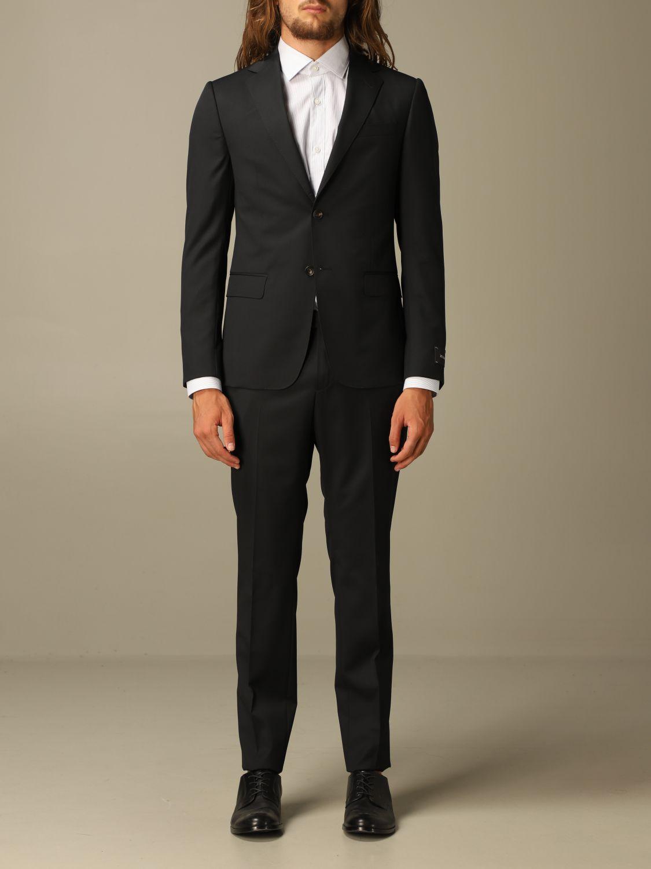 Классический костюм Z Zegna: Классический костюм Мужское Z Zegna черный 1
