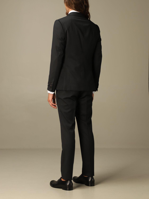 Классический костюм Z Zegna: Классический костюм Мужское Z Zegna черный 2