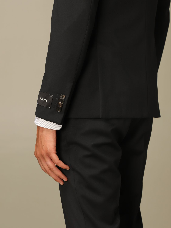 Классический костюм Z Zegna: Классический костюм Мужское Z Zegna черный 4