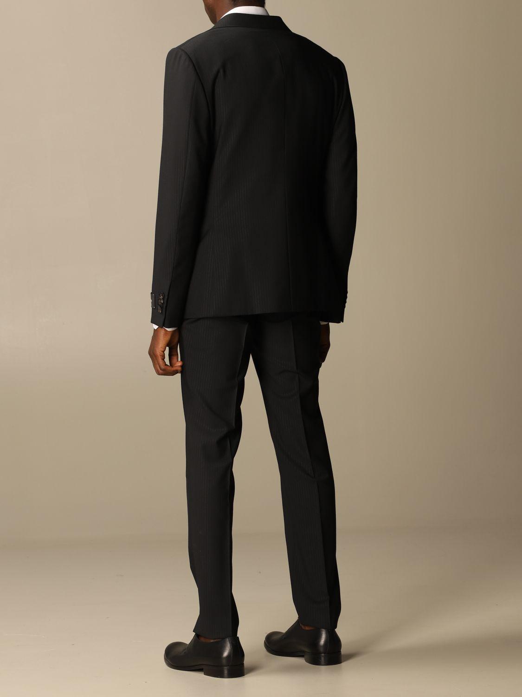 Классический костюм Z Zegna: Классический костюм Мужское Z Zegna черный 3