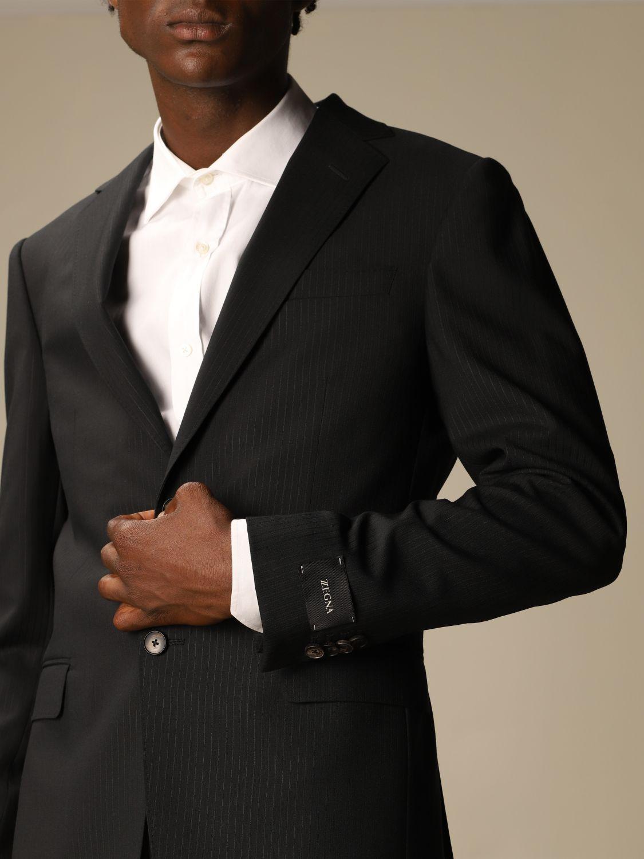 Классический костюм Z Zegna: Классический костюм Мужское Z Zegna черный 5