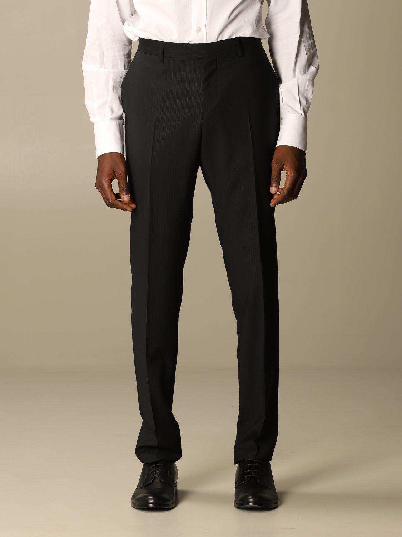 Классический костюм Z Zegna: Классический костюм Мужское Z Zegna черный 6