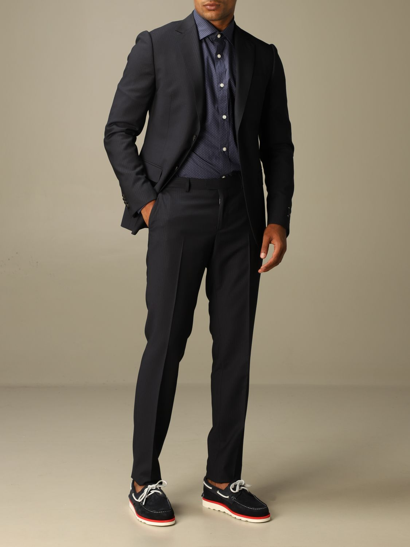 Классический костюм Z Zegna: Классический костюм Мужское Z Zegna синий 2