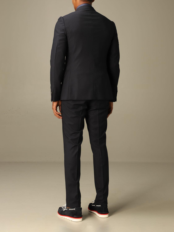 Классический костюм Z Zegna: Классический костюм Мужское Z Zegna синий 3