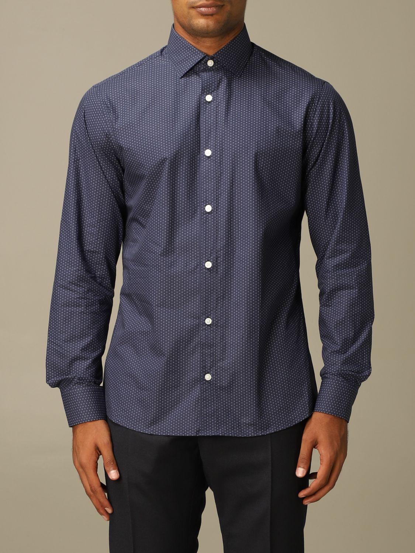 Shirt Z Zegna: Shirt men Z Zegna blue 1
