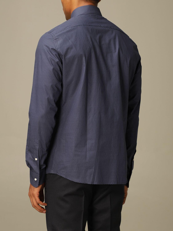 Shirt Z Zegna: Shirt men Z Zegna blue 2