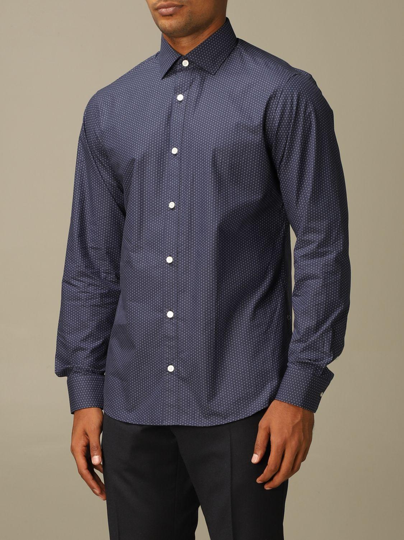 Camisa Z Zegna: Camisa hombre Z Zegna azul oscuro 3