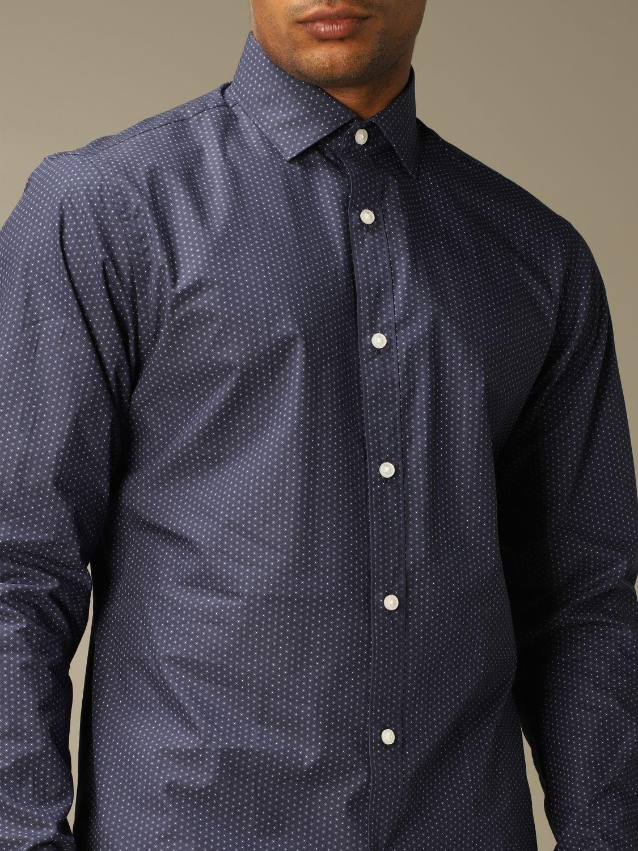 Camisa Z Zegna: Camisa hombre Z Zegna azul oscuro 4