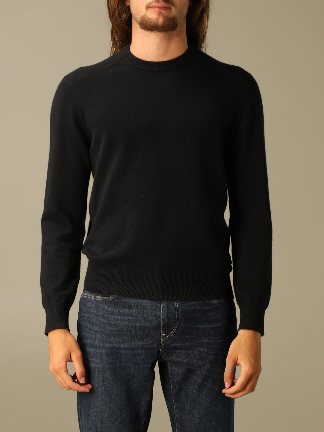 Sweater Z Zegna: Z Zegna cashmere sweater with long sleeves black 1