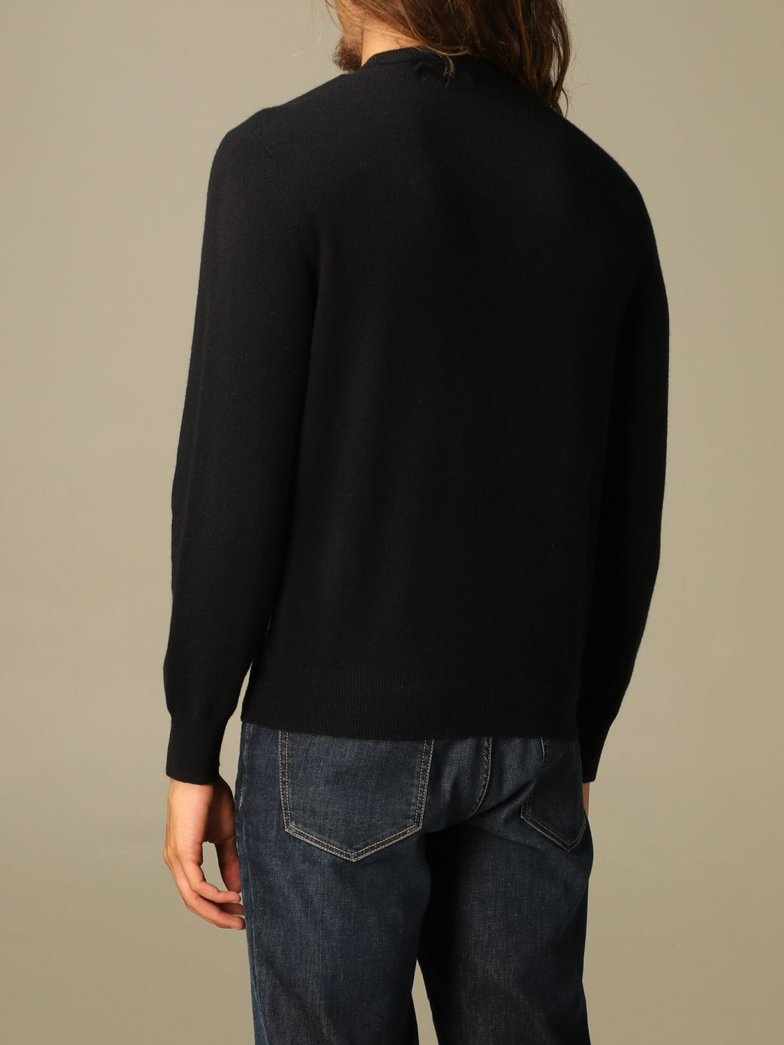 Sweater Z Zegna: Z Zegna cashmere sweater with long sleeves black 2
