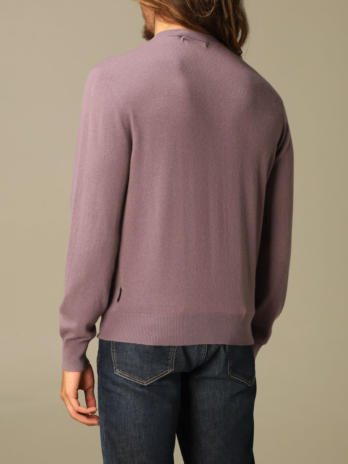Sweater Z Zegna: Z Zegna cashmere sweater with long sleeves wisteria 2