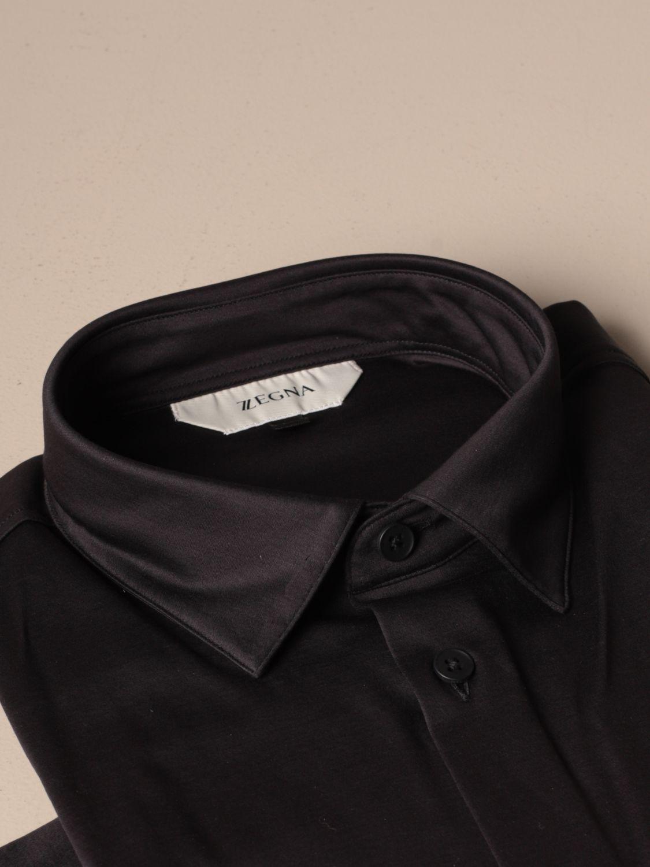 Camisa Z Zegna: Camisa hombre Z Zegna azul oscuro 2