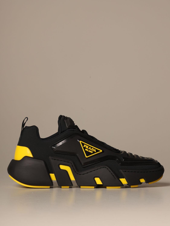 Shoes men Prada | Trainers Prada Men