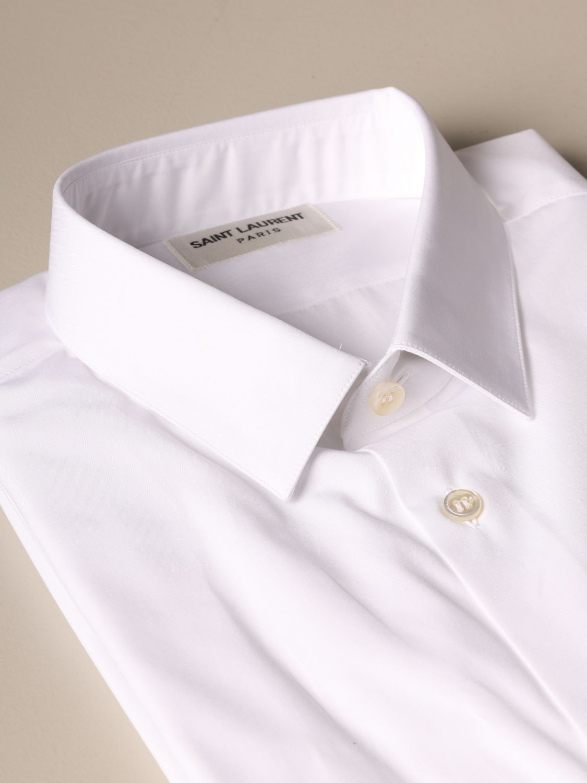 Рубашка Saint Laurent: Рубашка Мужское Saint Laurent белый 2