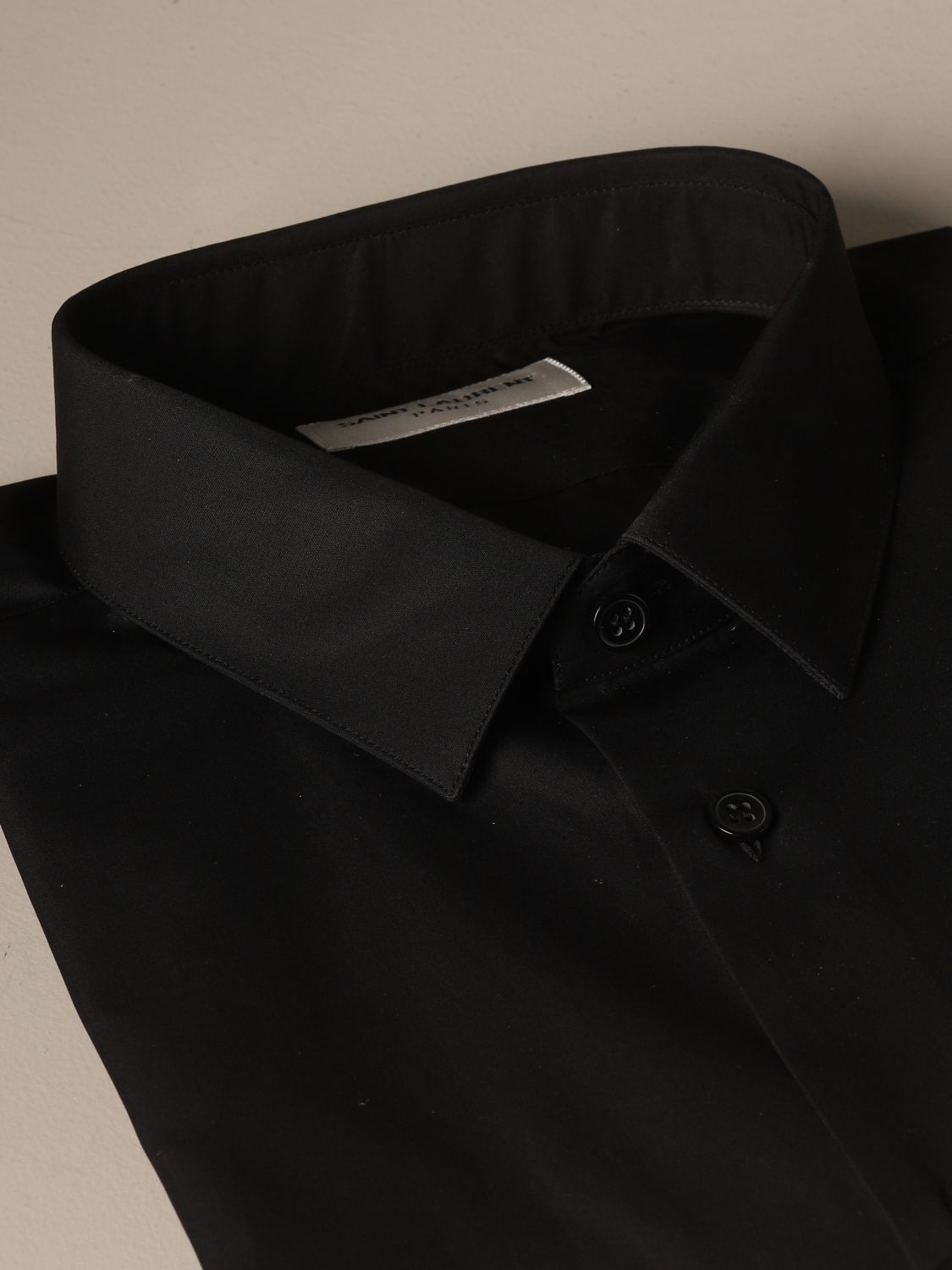 Shirt Saint Laurent: Shirt men Saint Laurent black 2