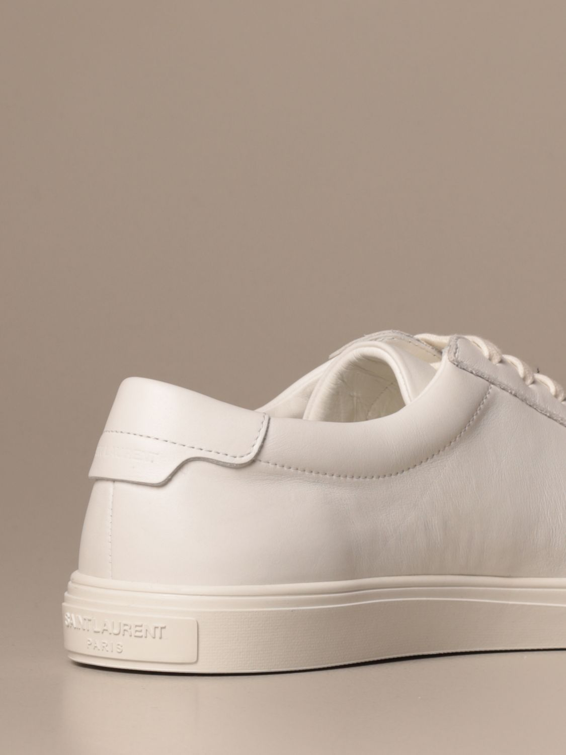 Trainers Saint Laurent: Shoes men Saint Laurent white 3