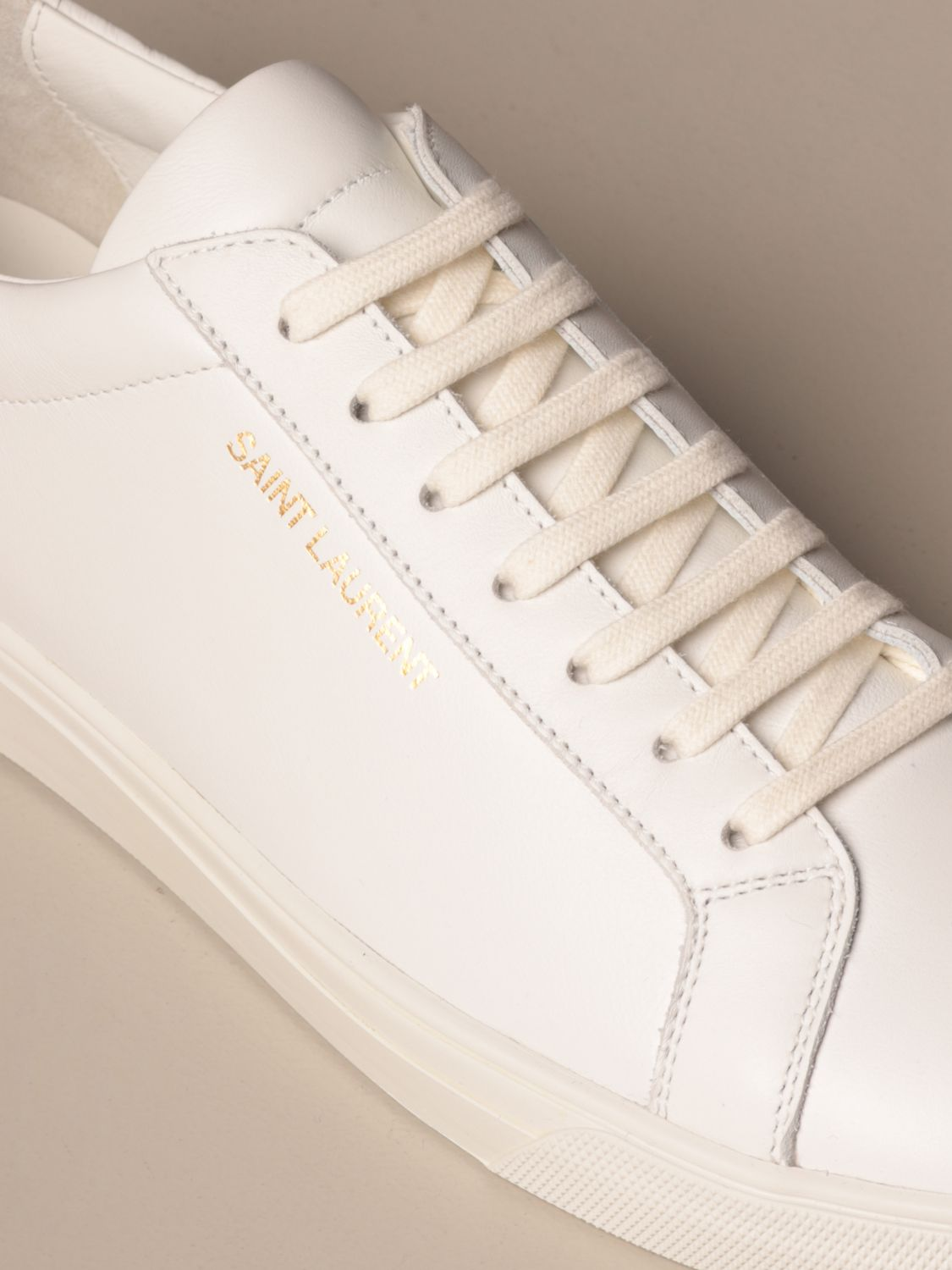 Trainers Saint Laurent: Shoes men Saint Laurent white 4